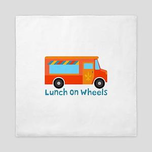 Lunch On Wheels Queen Duvet