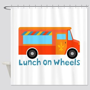 Lunch On Wheels Shower Curtain