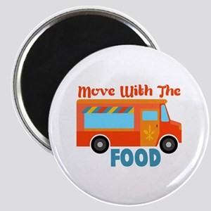 Move With The Food Magnets