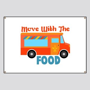 Move With The Food Banner