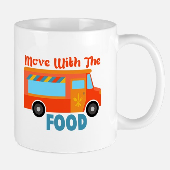 Move With The Food Mugs