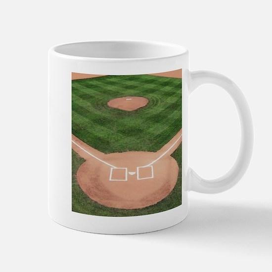 Baseball Diamond Mug Mugs