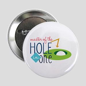 """Golf Masater 2.25"""" Button"""