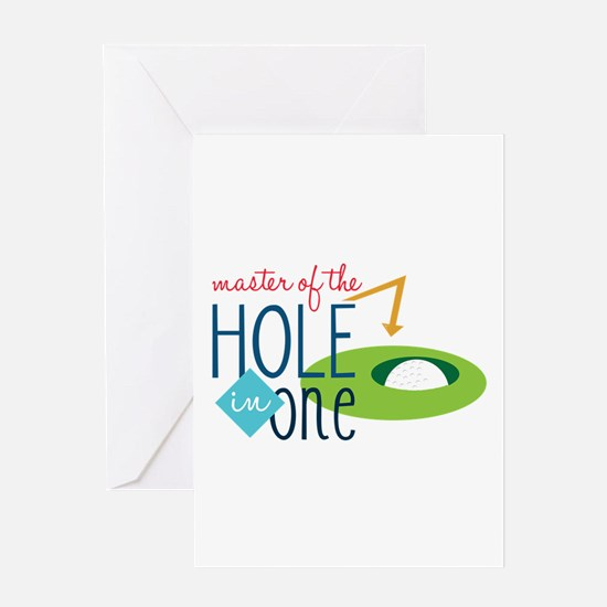 Golf Masater Greeting Cards