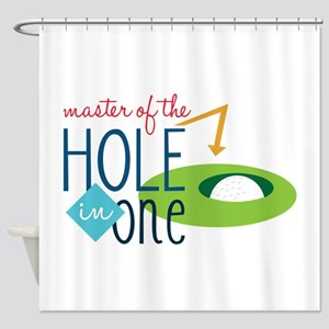 Golf Masater Shower Curtain