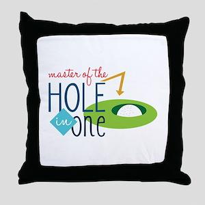 Golf Masater Throw Pillow