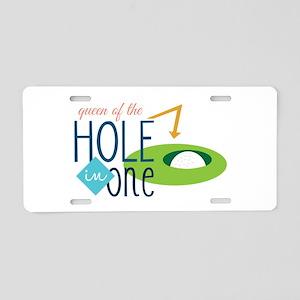 Golf queen Aluminum License Plate