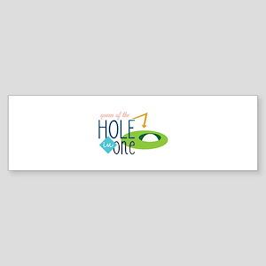 Golf queen Bumper Sticker