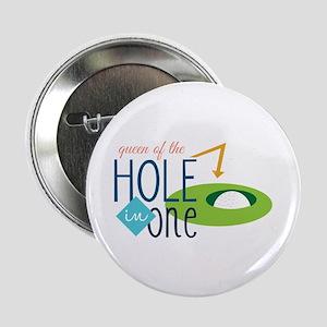 """Golf queen 2.25"""" Button"""