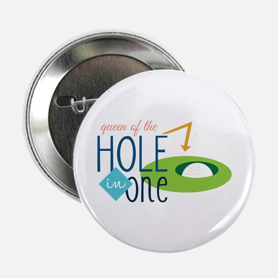 "Golf queen 2.25"" Button"