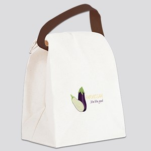 Eggplant Parmesan Canvas Lunch Bag