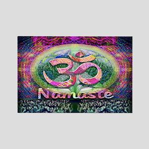 Namaster Tree of Life Peace Symbol Magnets