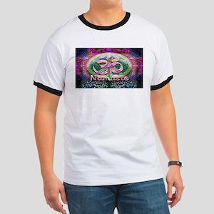 Namaster Tree of Life Peace Symbol T-Shirt