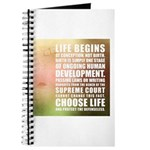 Life Begins At Conception Journal
