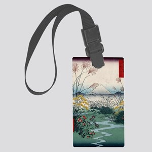 Otsuki Fields In Kai Province -  Large Luggage Tag