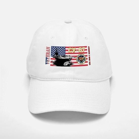 CV-67 USS John F. Kennedy Baseball Baseball Cap