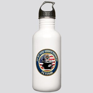 CV-67 USS John F. Kenn Stainless Water Bottle 1.0L