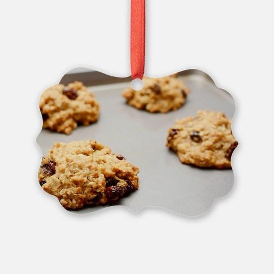 Oatmeal raisin cookies Ornament