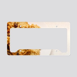 Oatmeal raisin cookies License Plate Holder