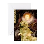 The Queen's Golden Greeting Cards (Pk of 10)