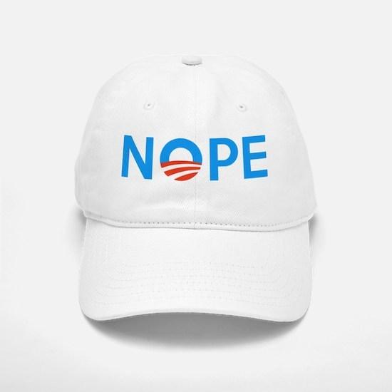 Anti Obama NOPE Baseball Baseball Baseball Cap