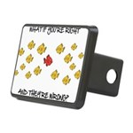 What if you're right Rectangular Hitch Cover
