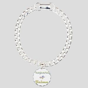 Property Of Jaime Female Charm Bracelet, One Charm