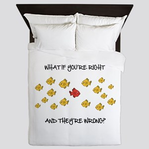 What if you're right Queen Duvet