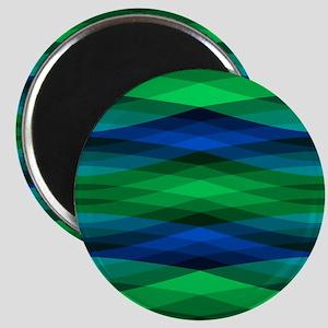 Trippy Pond Ripples Magnets