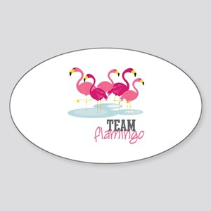 Team Flamingo Sticker