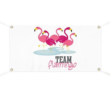 Team Flamingo Banner