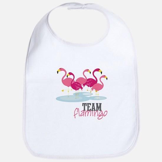Team Flamingo Bib