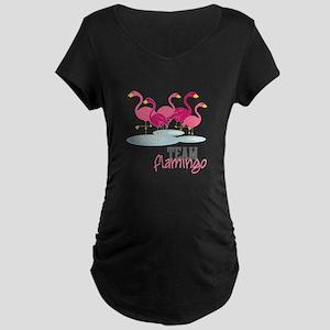Team Flamingo Maternity T-Shirt
