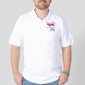 Team Flamingo Golf Shirt