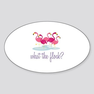 What The Flock Sticker
