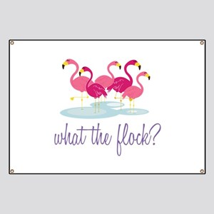 What The Flock Banner