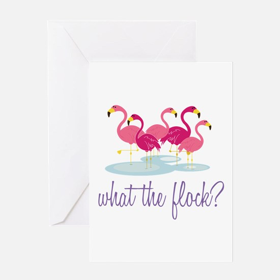 What The Flock Greeting Cards