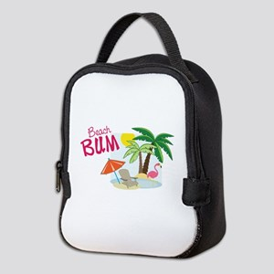 Beach Bum Neoprene Lunch Bag
