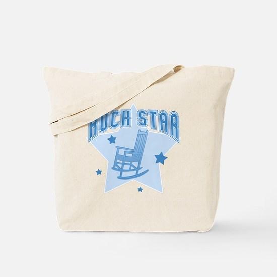 Rock Star [blue] Tote Bag