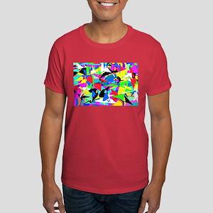 Abstract Retro Dark T-Shirt