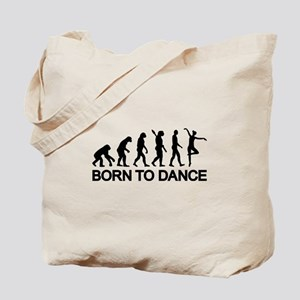 Ballet Ballerina evolution Tote Bag