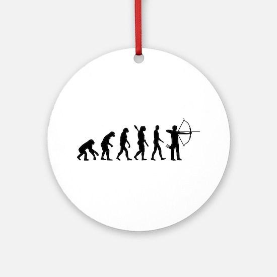 Evolution Archery Ornament (Round)
