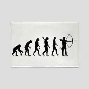 Evolution Archery Rectangle Magnet