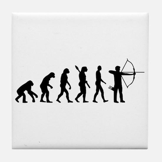 Evolution Archery Tile Coaster