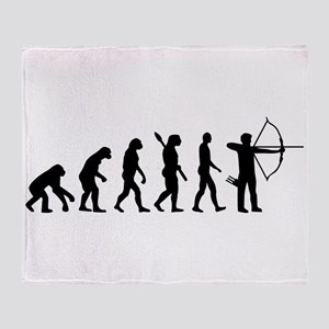 Evolution Archery Throw Blanket
