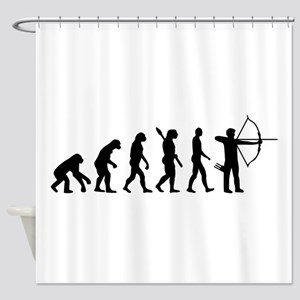 Evolution Archery Shower Curtain