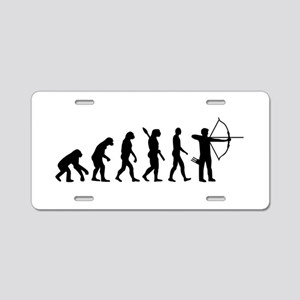 Evolution Archery Aluminum License Plate