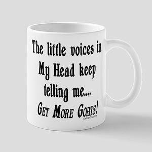GOAT-getmoregoats Mugs