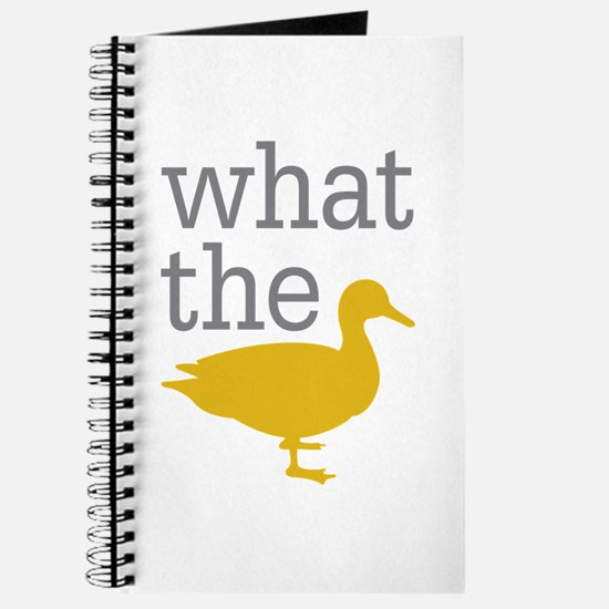 What The Duck? Journal