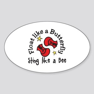Sting Like A Bee Sticker